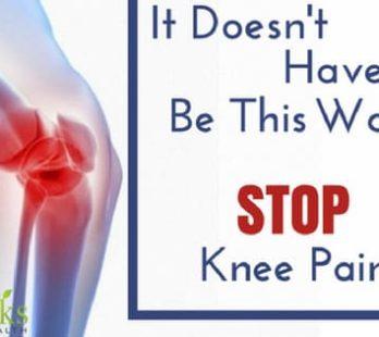doctors for knee pain relief ks