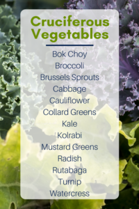 Thyroid Health and Cruciferous Vegetables