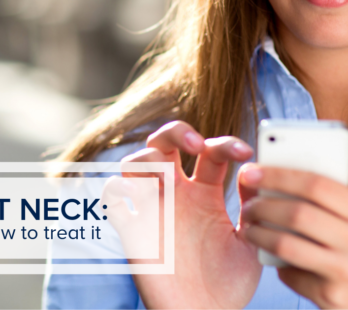 Text Neck and How to Treat It